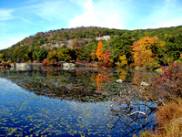 Fall Colors at Lake Kanawauke, Harriman State Park, New York