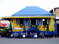 A typical Cafe in Roseau, Dominica