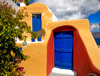 Bright Doorway, Oia, Santorini