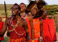 Chanting Masai Warriors